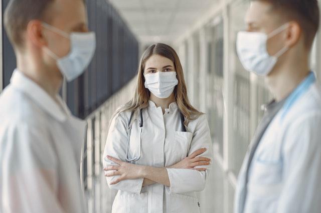 nurse watching on